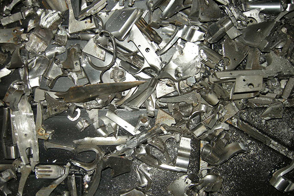 Shredded Stainless Steel Weapons