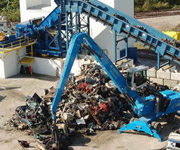 Automobile Shredding System