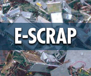 Ferrous E-Scrap Shredding